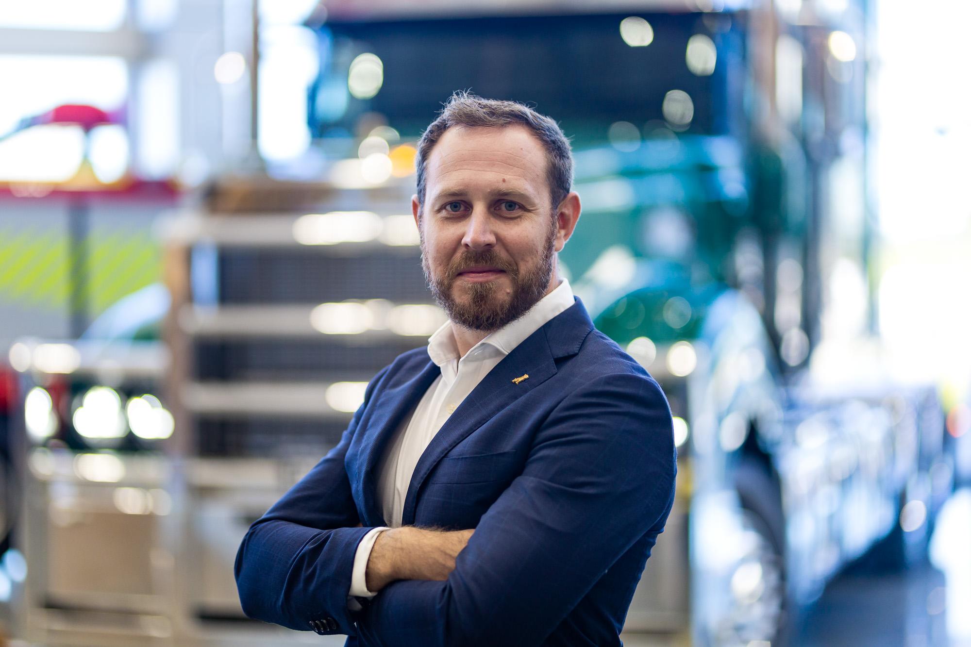 Tom Chapman VP Mack Trucks Australia