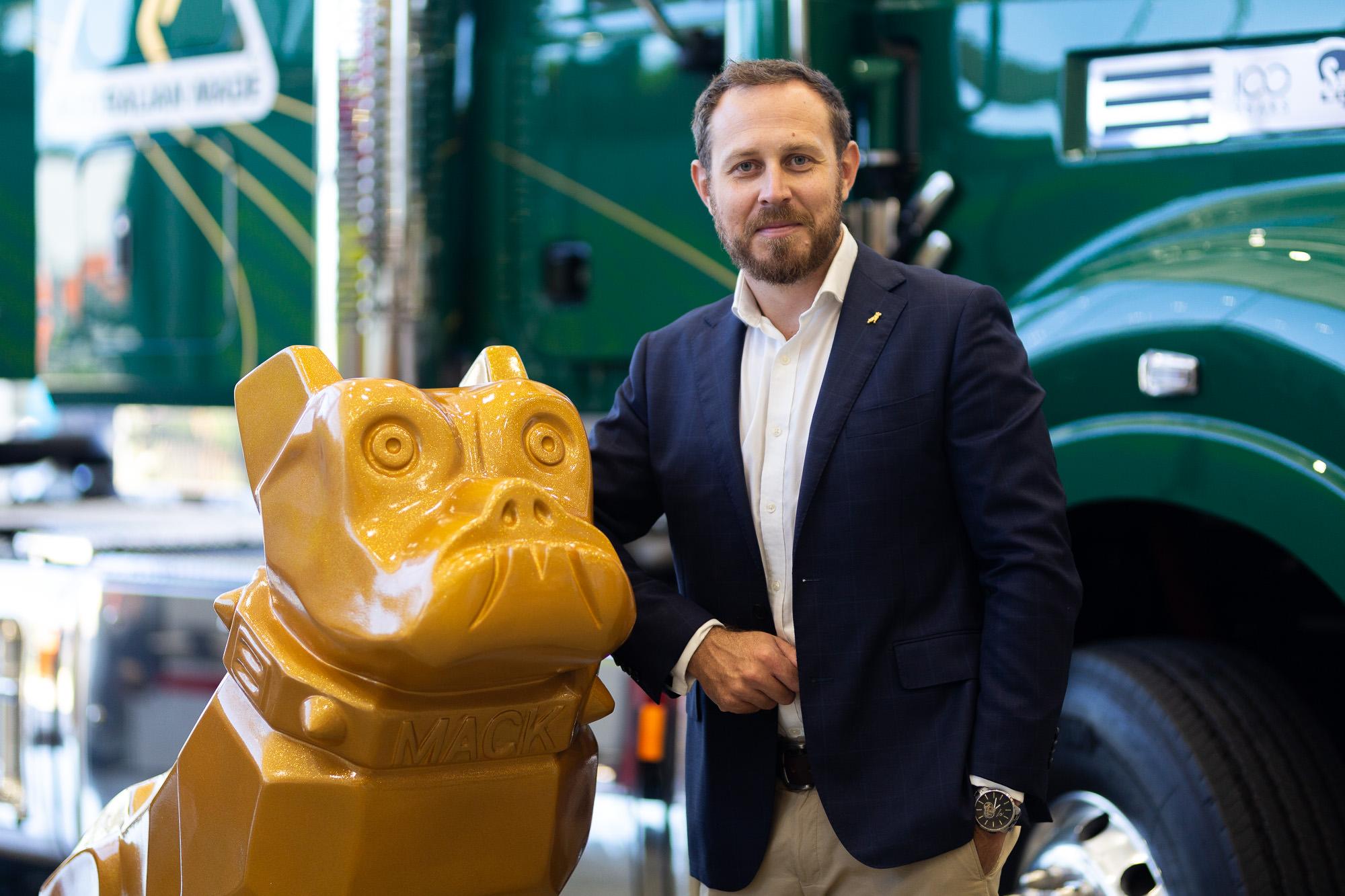 Tom Chapman Mack Trucks Australia VP
