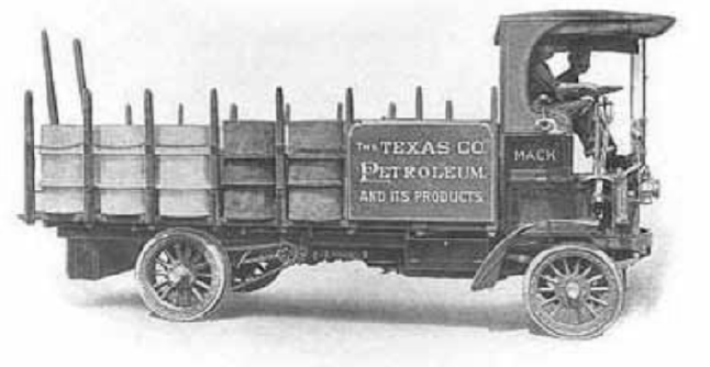 The first Mack Truck is built