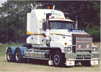 The Mack Titan is released into the Australian Market