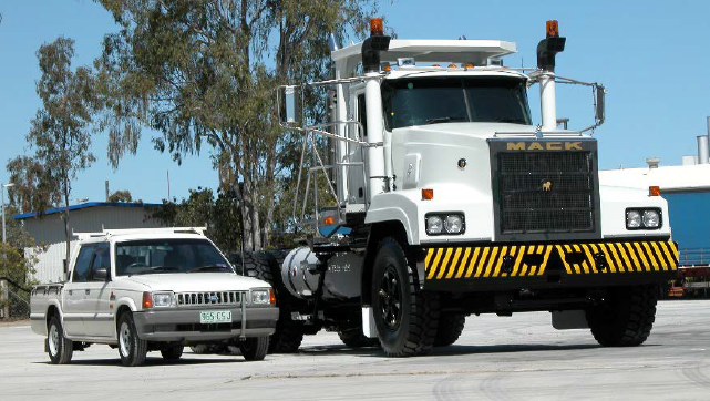 Largest Mack Truck in Australia is released – the Big Foot mining truck
