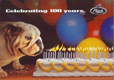 Mack Trucks Inc. celebrates a century of manufacturing trucks