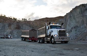 Mack Trucks Australia - Gravel City Trident Truck Review