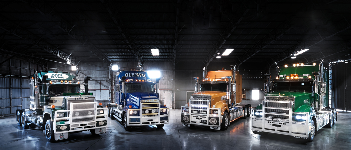 100 Year Limited Edition Mack Trucks