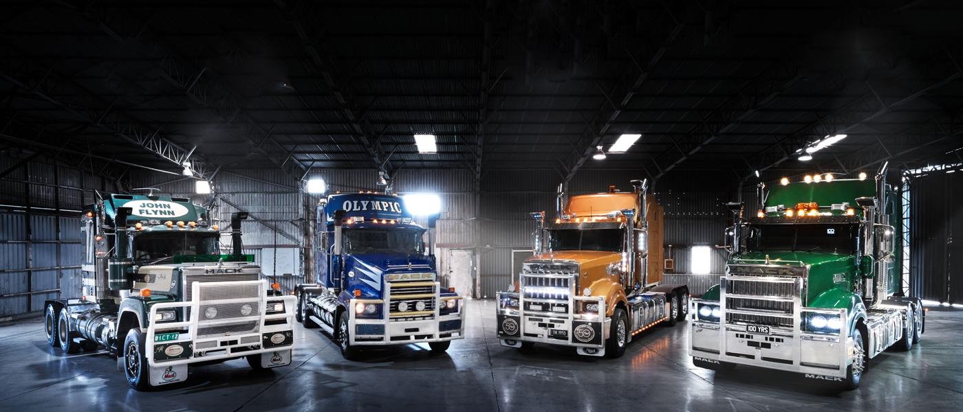 100 Year Limited Edition Mack Trucks