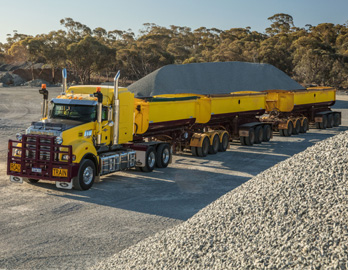 Mack Titan - Road Train Truck - Australia Little Industries