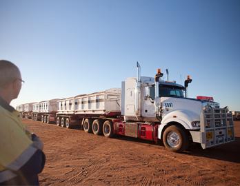 Mack Titan - Triple Road Train Truck - Jamieson Transport - Australia