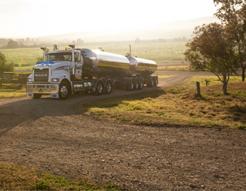 Mack Trident - Milk Cartage Distribution Truck - SHR Haulage - Australia