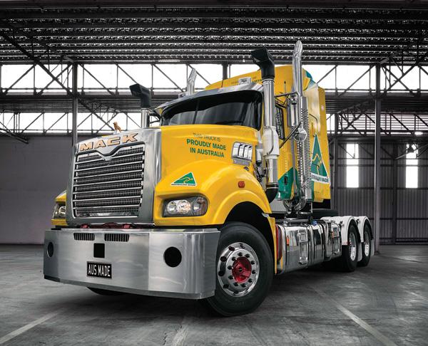 Mack Trucks are Australia Made