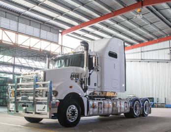 "Mack Trucks - Super-Liner 60"" Sleeper Cab"