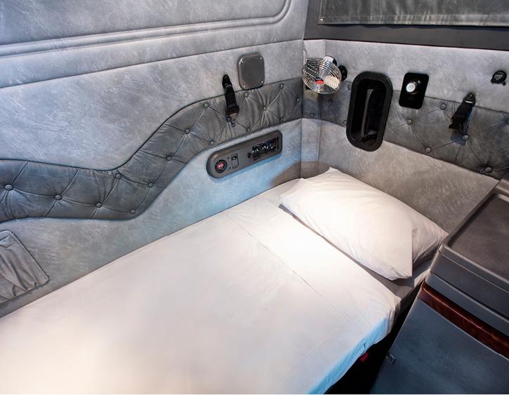 """Mack Super-Liner: 60"""" Sleeper Bed"""