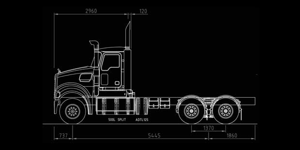 Body Builder Vehicle Chassis Drawing