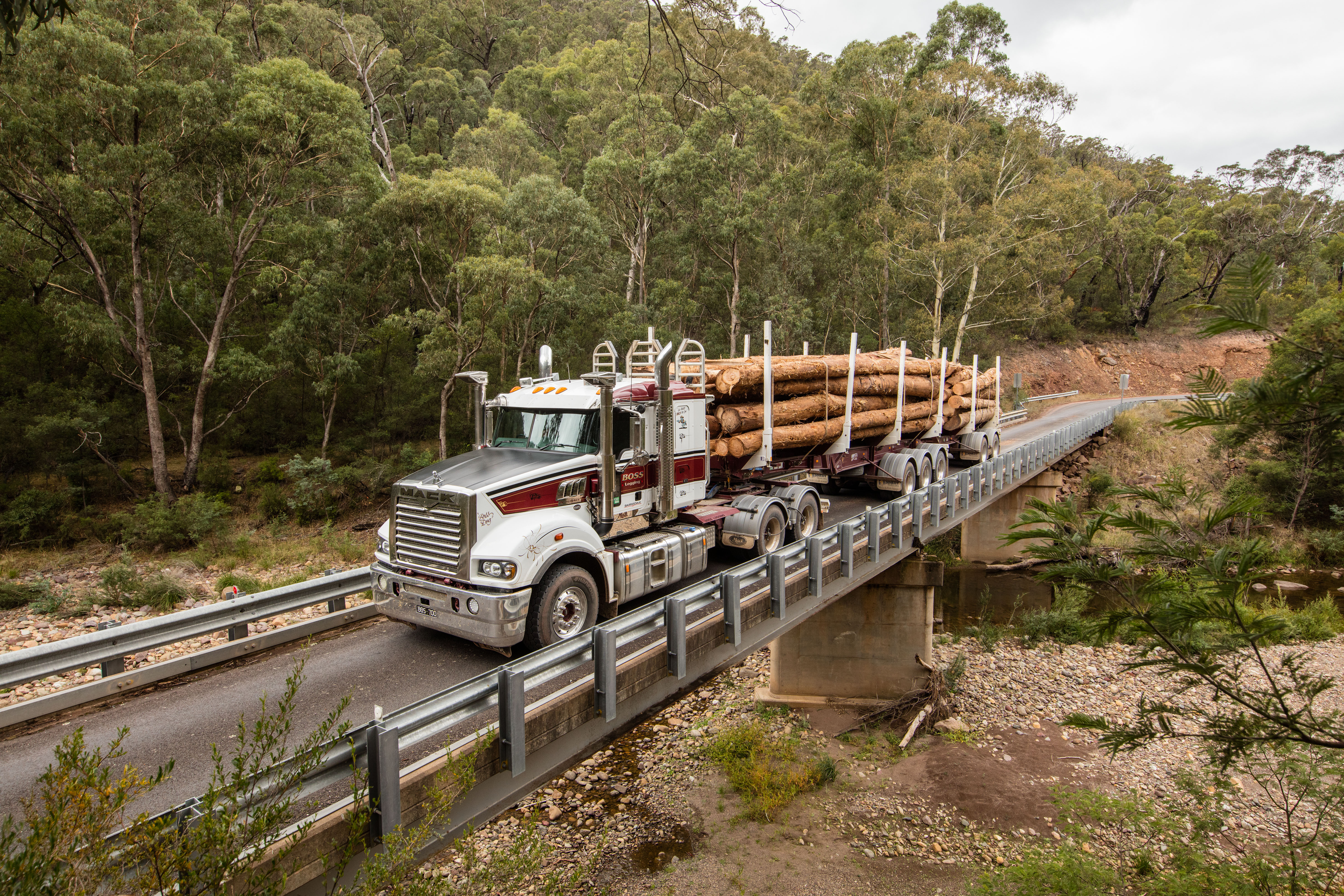 Mack Trucks Australia - Boss Logging - Customer Stories