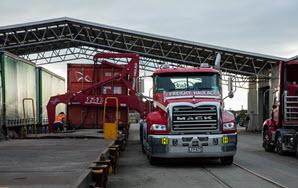 Mack Trucks Granite at Freight Haulage